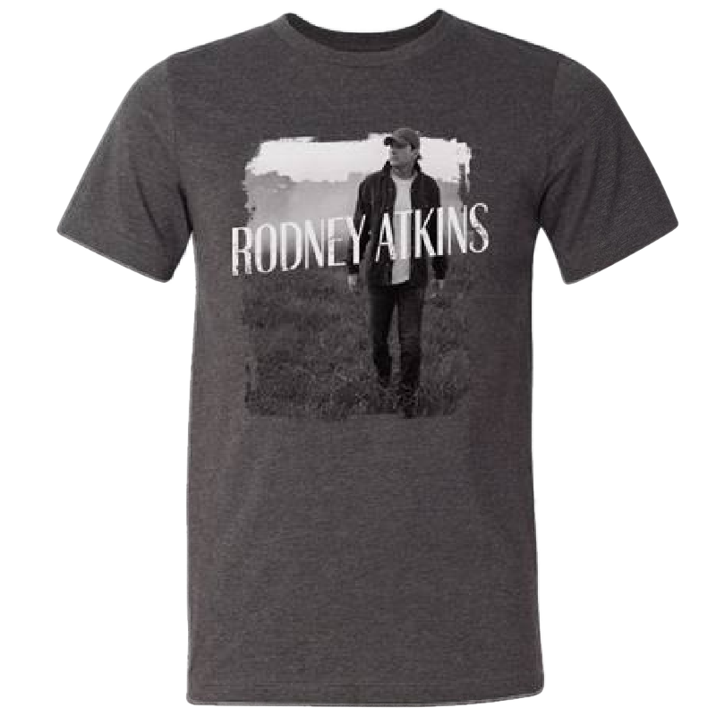 Rodney Atkins Dark Heather Grey Photo Tee
