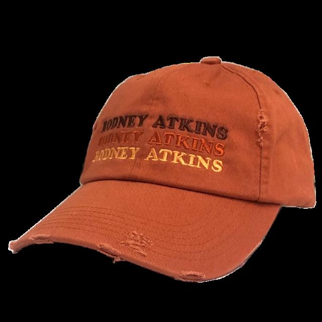 Rodney Atkins Burnt Orange Ballcap