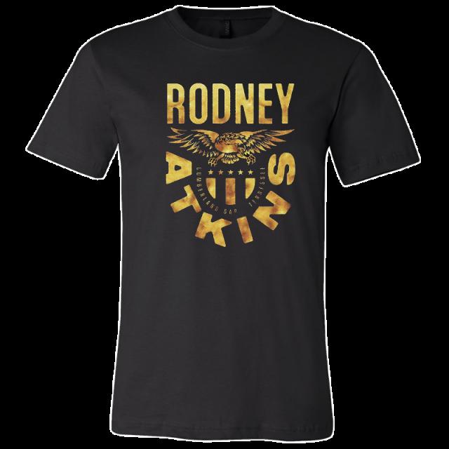 Rodney Atkins Black Gold Eagle Tee