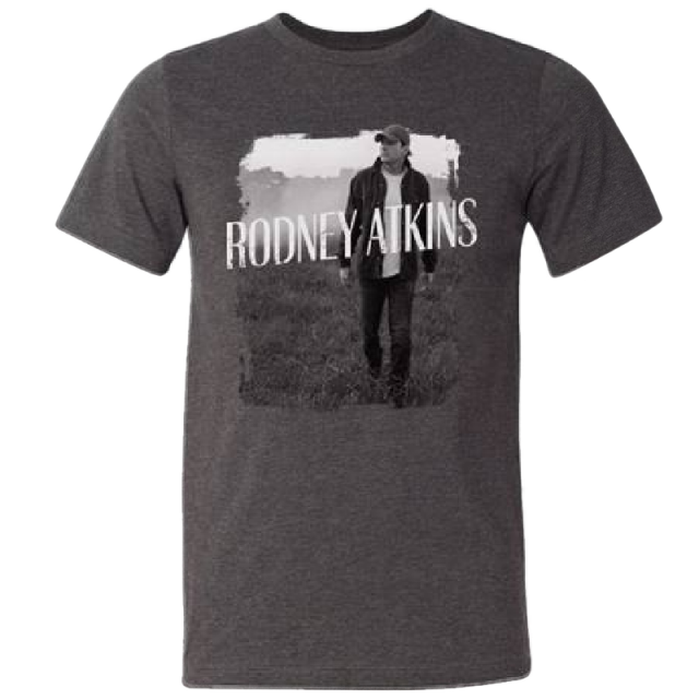 Rodney Atkins Dark Heather Grey Photo Tee