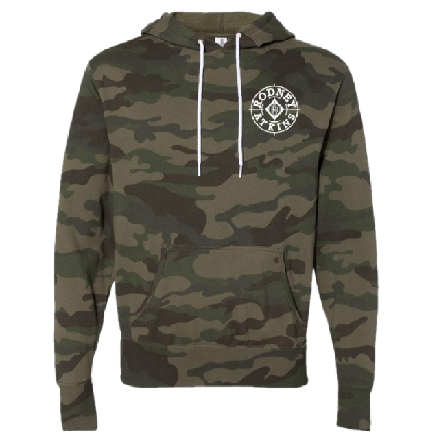 Rodney Atkins Forest Camo Pullover Hoodie